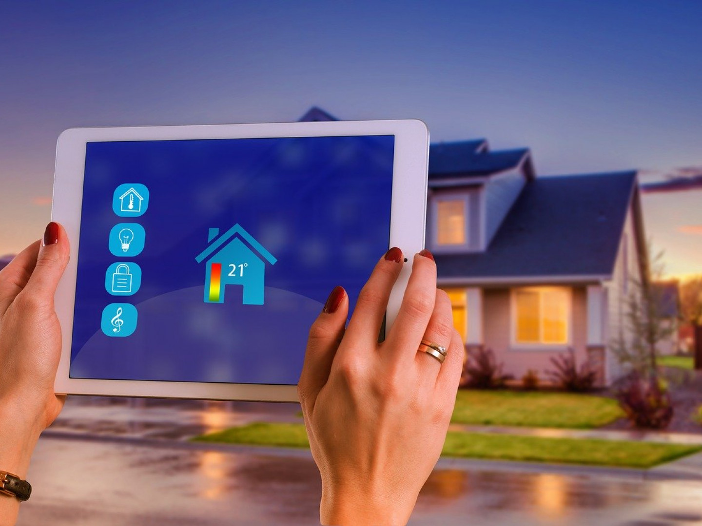 What can be looped into your smart home system?